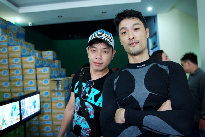 Bo doi Thai Hoa - Johnny Tri Nguyen khoi quay 'Fan cuong' hinh anh