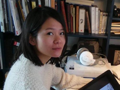 Co gai Viet co phim du Oscar: 'Muon lam phim ve que huong' hinh anh
