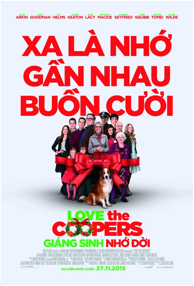 'Love the Coopers': Khi Giang sinh mang mau noi buon hinh anh 1