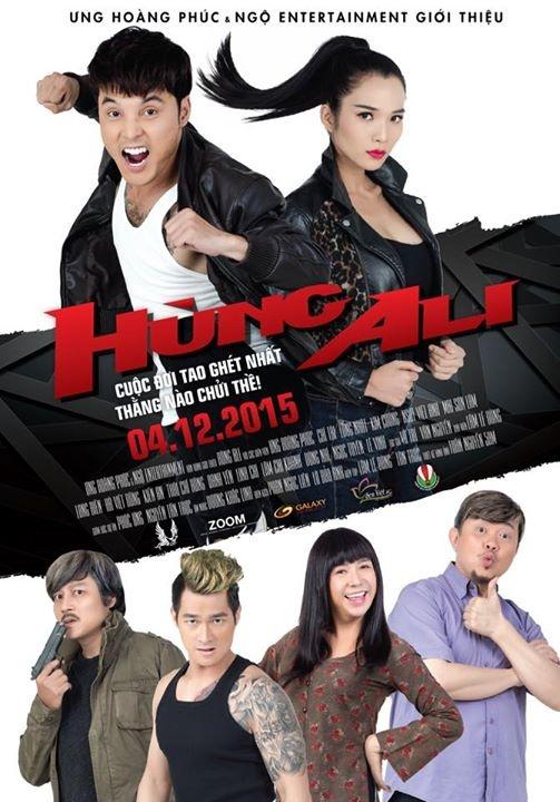 'Hung Ali': Khi Ung Hoang Phuc dong phim hanh dong hinh anh 1