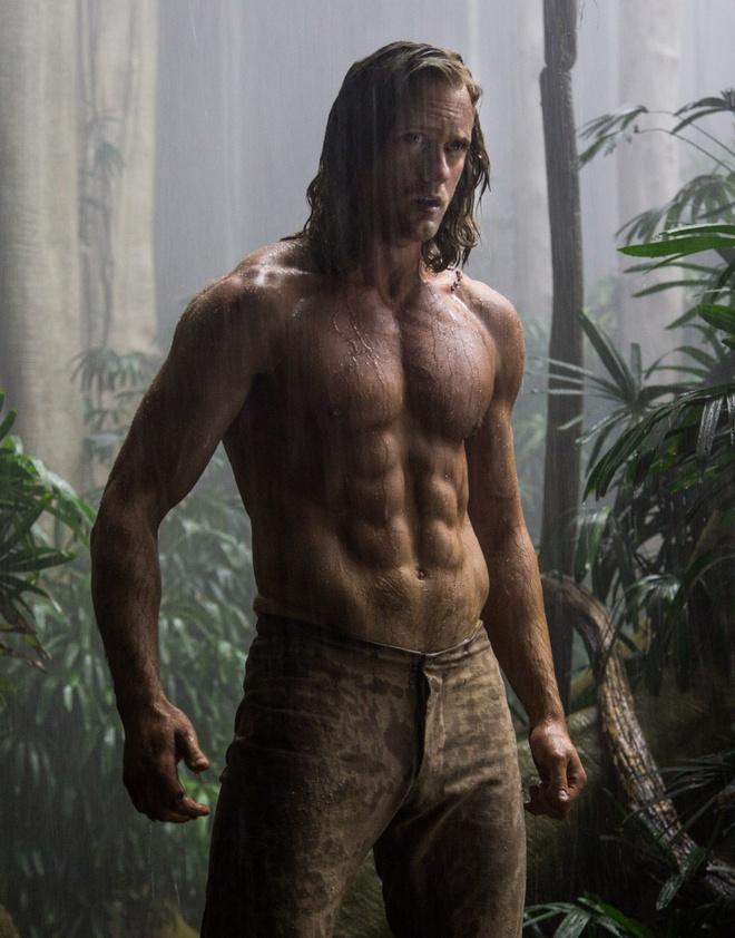 Bom tan 'Tarzan' moi khong ke lai nguon goc nhan vat hinh anh 2 Tạo hình Tarzan gây sốt của