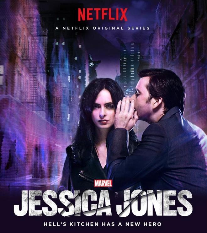 'Jessica Jones' va goc khuat den toi cua Marvel hinh anh 1