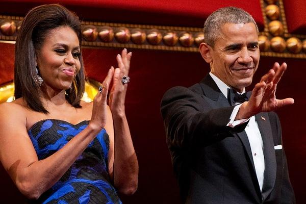 Vo chong Tong thong Obama tiet lo phim yeu thich nhat 2015 hinh anh