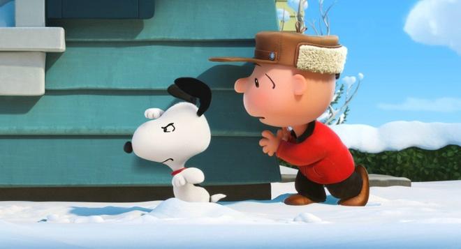 Cho Snoopy buoc chan len man bac sau hon nua the ky hinh anh