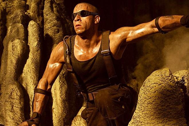 Vin Diesel dua 'Riddick' len man anh nho hinh anh