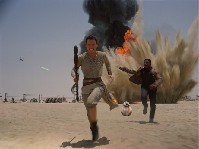 'Star Wars 7' du tinh thu hon 500 trieu USD sau ba ngay hinh anh 1