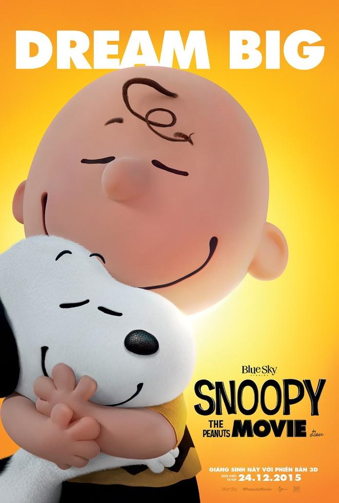 Cho Snoopy co man tai xuat sinh dong tren man anh hinh anh 1