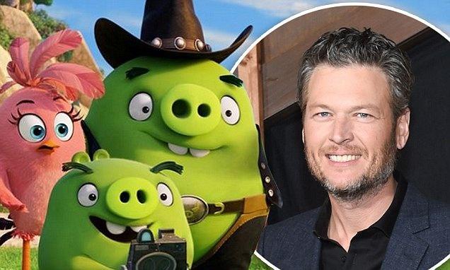 Blake Shelton long tieng cho lon trong phim 'Angry Birds' hinh anh