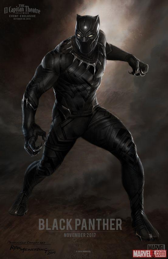 'Black Panther' la tac pham mo duong 'Avengers 3' hinh anh 1