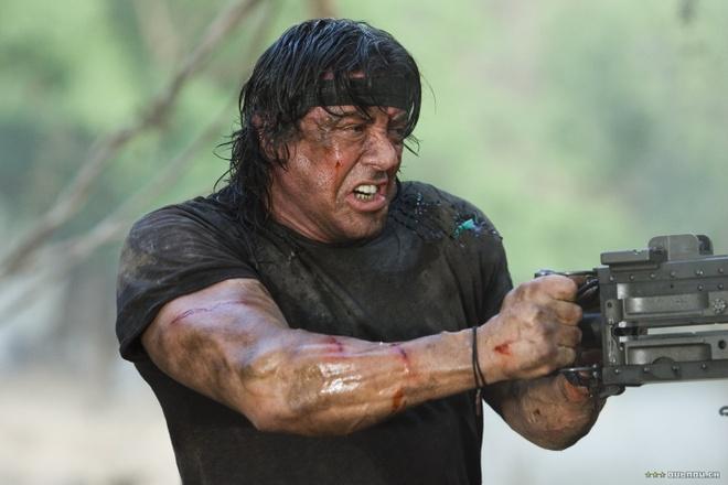 Sylvester Stallone gia tu loat phim 'Rambo' hinh anh