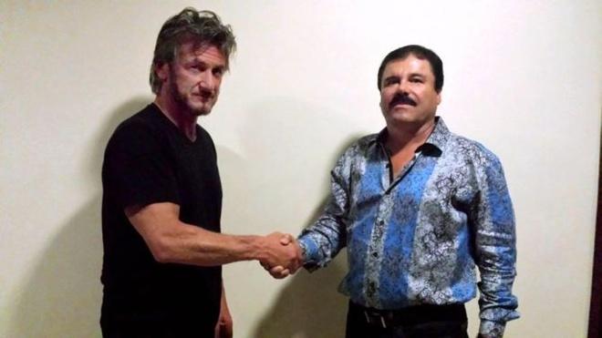 Sean Penn tung bi mat phong van chua te ma tuy El Chapo hinh anh