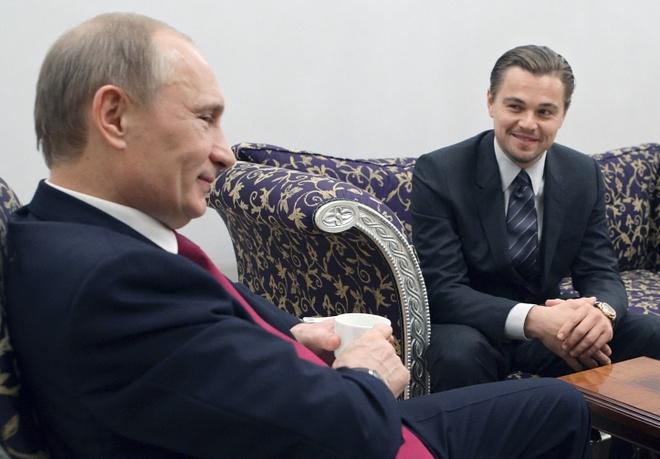 Leonardo DiCaprio muon dong vai Tong thong Nga Putin hinh anh