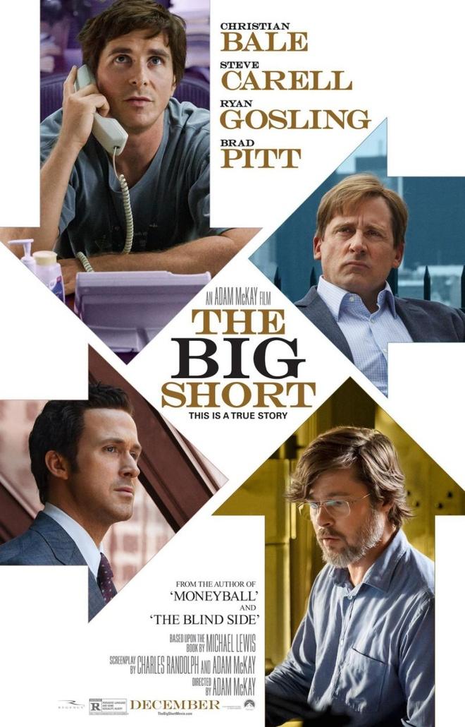 'The Big Short' vuon len la ung cu vien so mot tai Oscar hinh anh 1