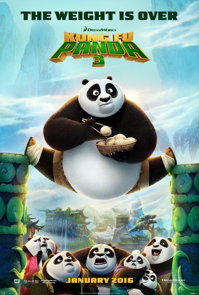 'Kung Fu Panda 3' san sang chiem ngoi dau phong ve Bac My hinh anh 1