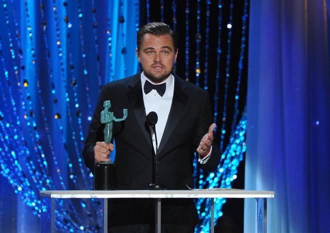 Leonardo DiCaprio da o rat gan tuong vang Oscar hinh anh 1
