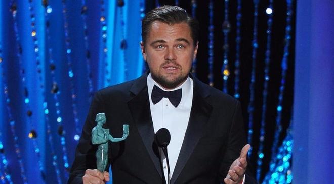 Leonardo DiCaprio da o rat gan tuong vang Oscar hinh anh