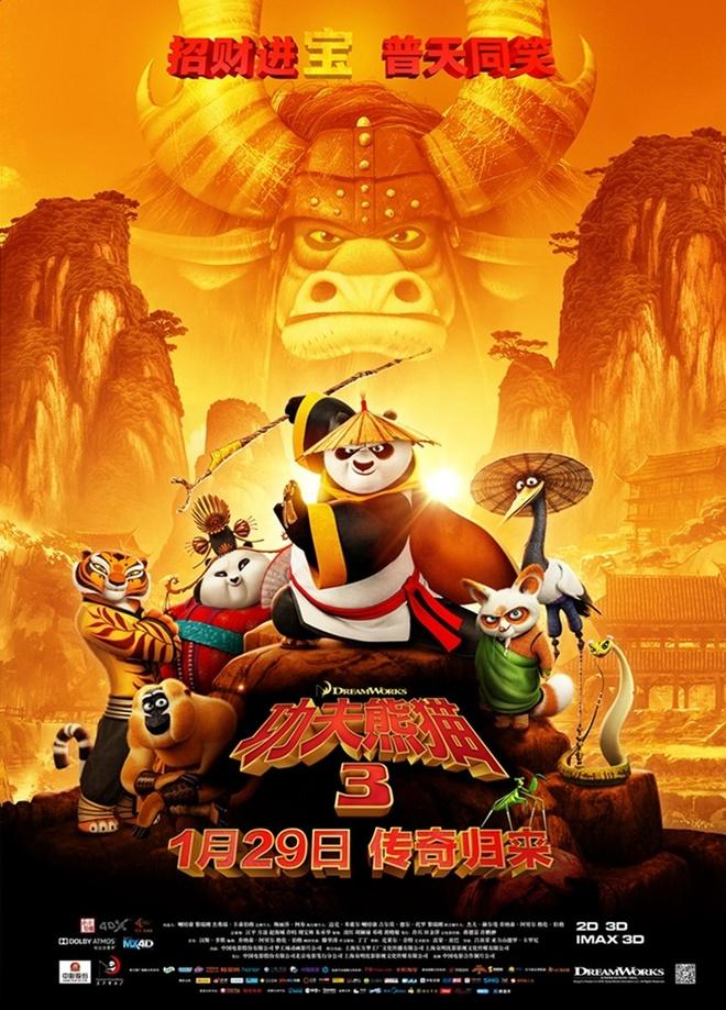 'Kung Fu Panda 3' chien thang tai Trung Quoc, Han Quoc hinh anh 1