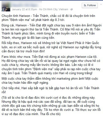 Lo yeu: Kich ban PR quen thuoc cua phim Viet? hinh anh 3