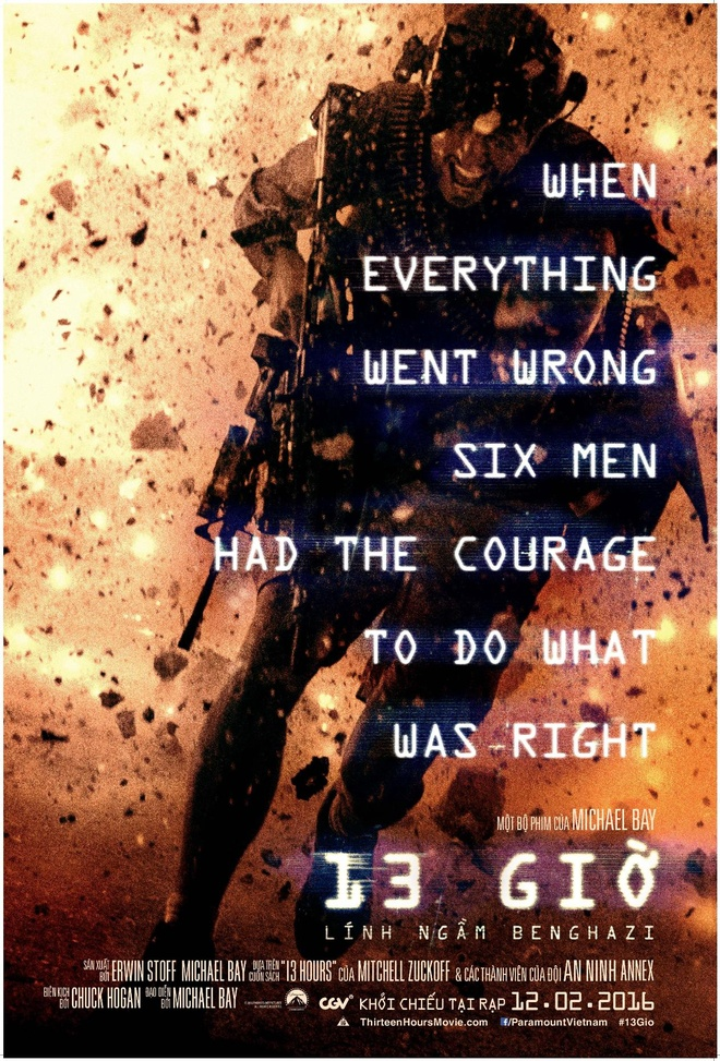 '13 gio: Linh ngam Benghazi' - Tien bo tu Michael Bay hinh anh 1