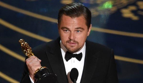 Leonardo DiCaprio gianh Oscar sau 5 lan that bai hinh anh