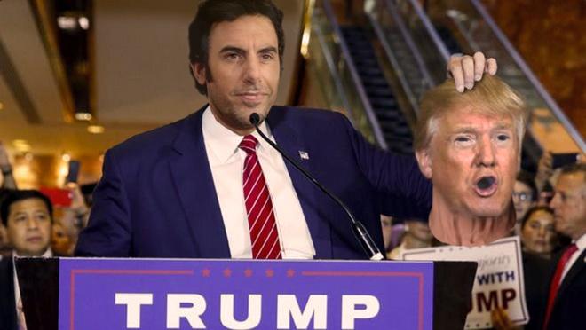 Donald Trump bi gieu mac benh AIDS trong phim hai hanh dong hinh anh 2