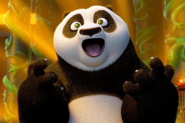 Gau truc Po tiep tuc cuon nguoi xem qua 'Kung Fu Panda 3' hinh anh