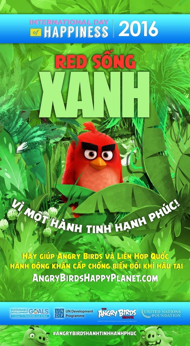Chim Do trong 'Angry Birds' tro thanh dai su danh du cua LHQ hinh anh 1