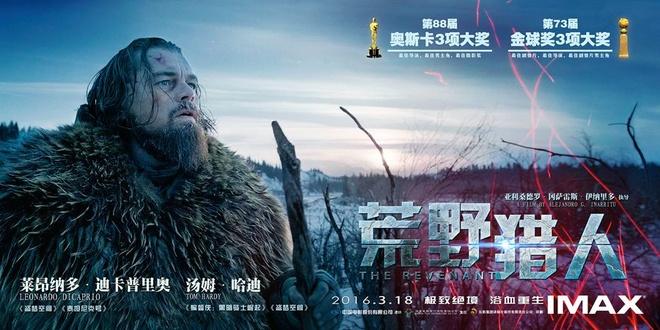 'The Revenant' thu hut khan gia Trung Quoc hinh anh 1