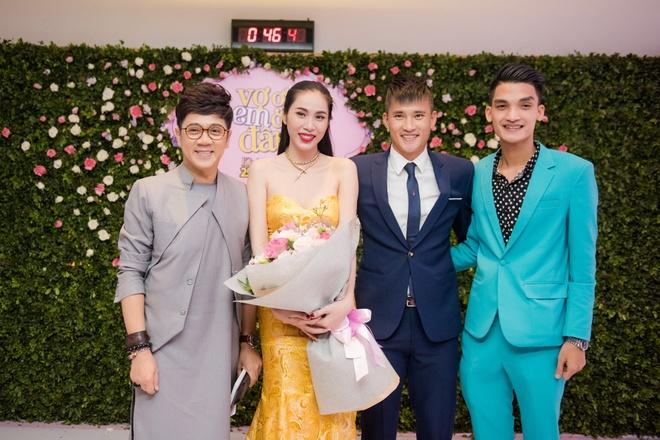 Cong Vinh xuat hien muon de chuc mung Thuy Tien hinh anh 10