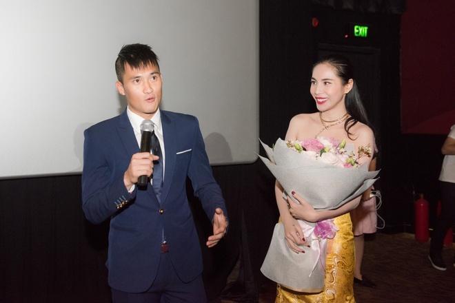 Cong Vinh xuat hien muon de chuc mung Thuy Tien hinh anh 4