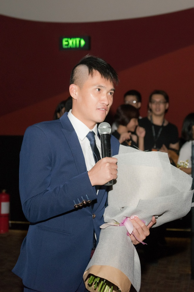 Cong Vinh bi Thuy Tien lam bong da dau khi dong phim hinh anh 3