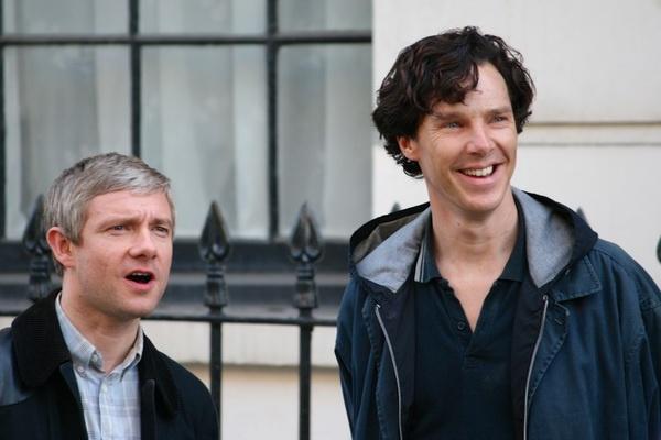 Mua 4 loat 'Sherlock' chinh thuc khoi quay hinh anh