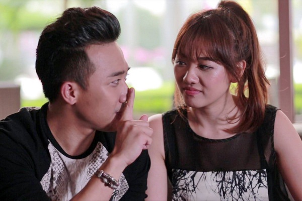 Tran Thanh - Hari Won: 'Khong ban re cam xuc de gia yeu' hinh anh