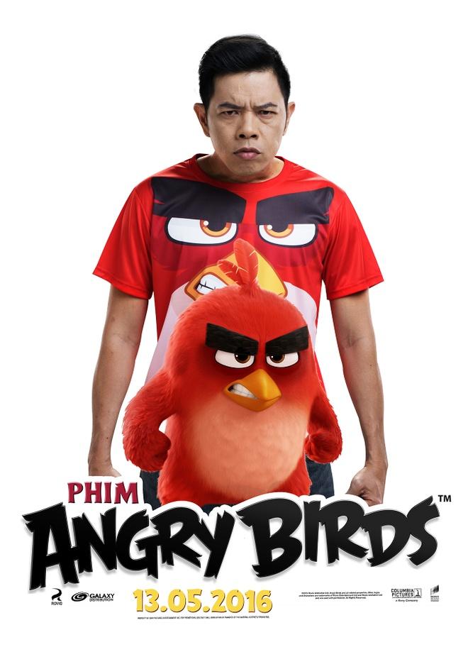 Thai Hoa long tieng cho chim Do trong 'Angry Birds' hinh anh 1