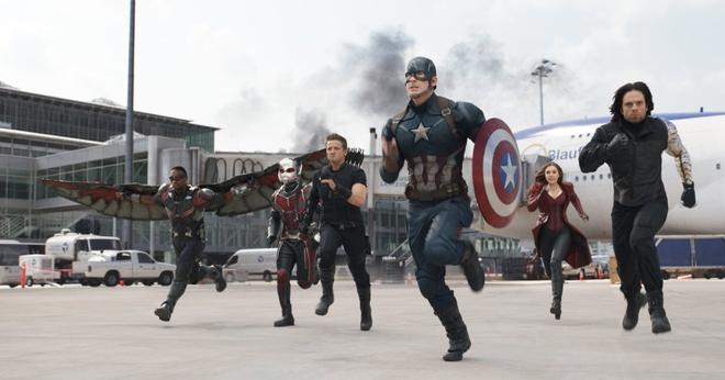 'Captain America: Civil War' thieu chay phong ve toan cau hinh anh 1