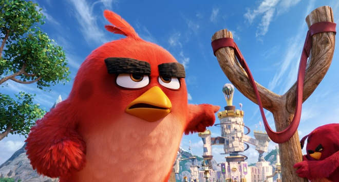 'Angry Birds': Hai huoc, bat mat, nhung chi danh cho tre em hinh anh 2