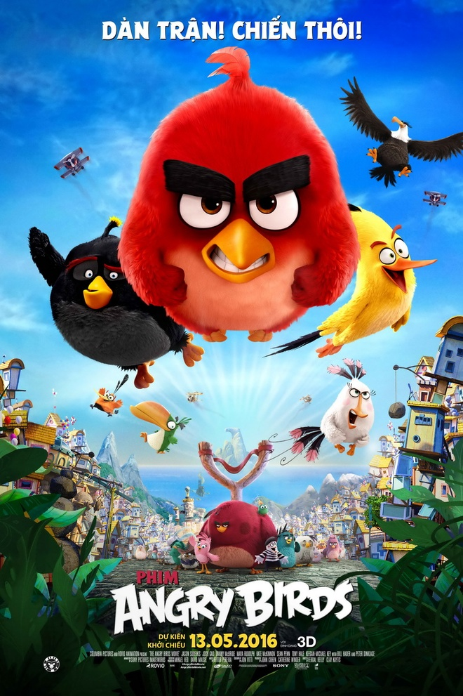 'Angry Birds': Hai huoc, bat mat, nhung chi danh cho tre em hinh anh 1