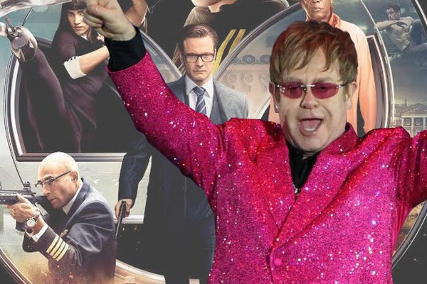 Elton John xac nhan tham gia 'Kingsman 2' hinh anh