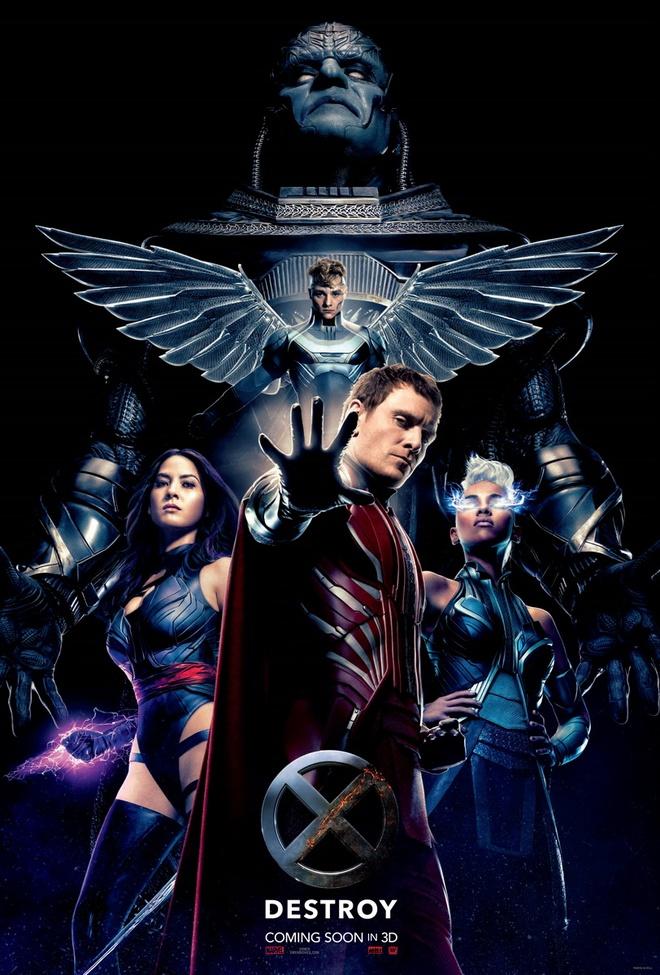 Sự trỗi dậy của Apocalypse và nhóm Tứ Kỵ sĩ đẩy nhóm X-Men của Giáo sư X  vào cuộc chiến đầy cam go trong tập phim mới.