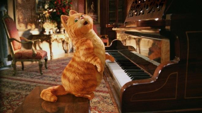Meo Garfield chuan bi tai xuat tren man anh hinh anh 2