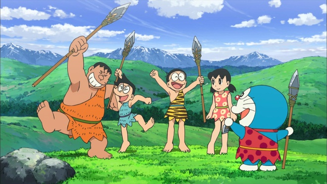 Phim Doraemon moi cuon hut nho phan hinh anh hien dai hinh anh 3
