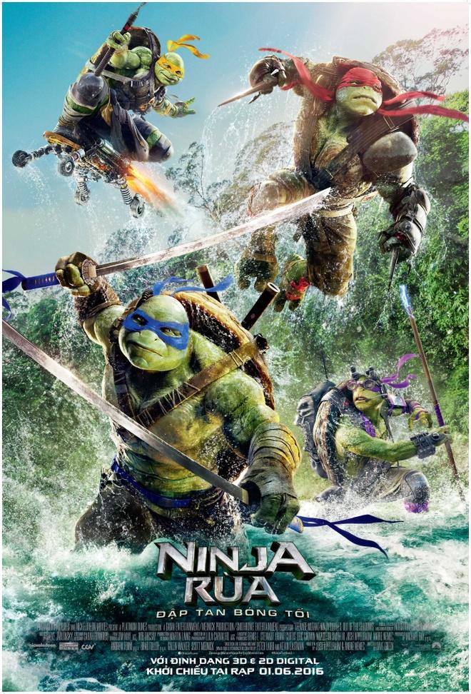 'Ninja Rua 2' khoi dau cham chap tai Bac My hinh anh 1