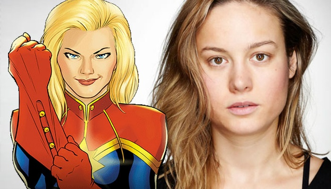 My nhan 'Kong: Skull Island' co the tro thanh Captain Marvel hinh anh 1