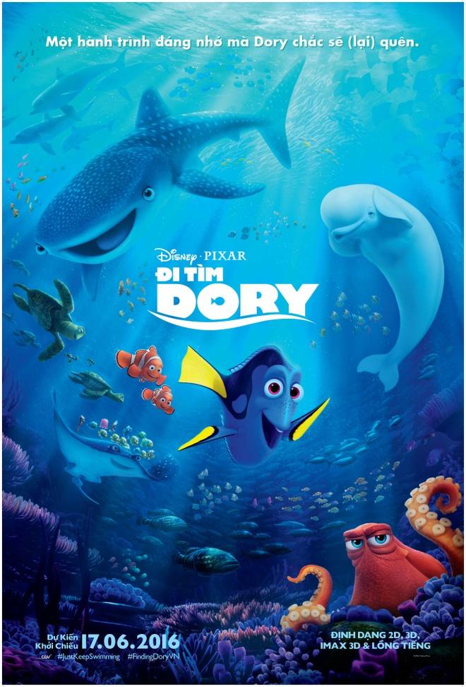 'Di tim Dory' co the giup Pixar xac lap ky luc phong ve moi hinh anh 1