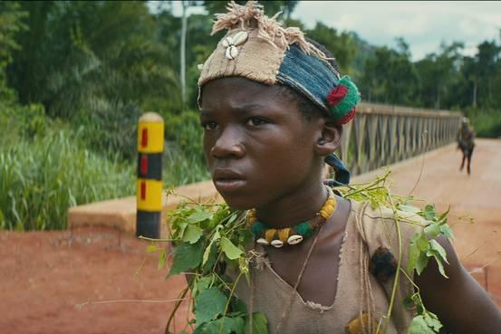 Sao nhi Ghana gop mat trong phim 'Nguoi Nhen' moi hinh anh