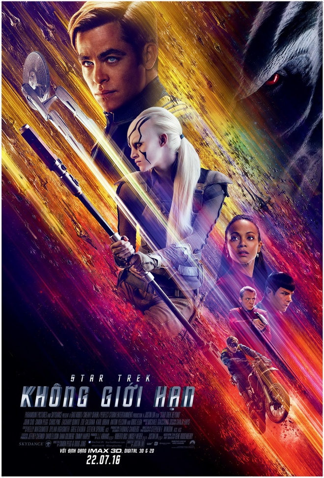 review phim Star Trek Beyond anh 1