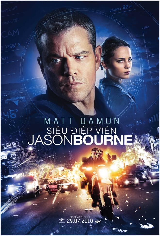 'Jason Bourne': Sieu pham hanh dong mua he 2016 hinh anh 1