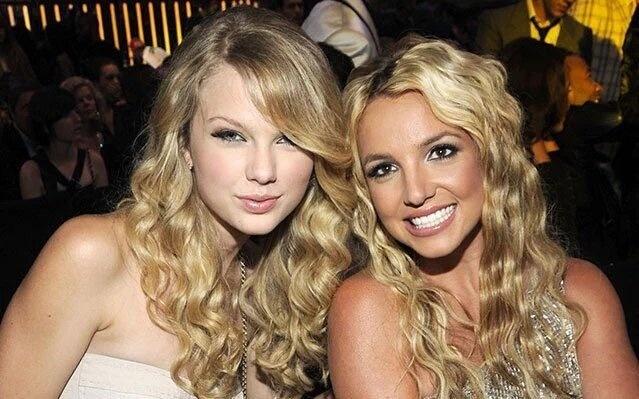 Britney Spears quen la da gap Taylor Swift hinh anh 1