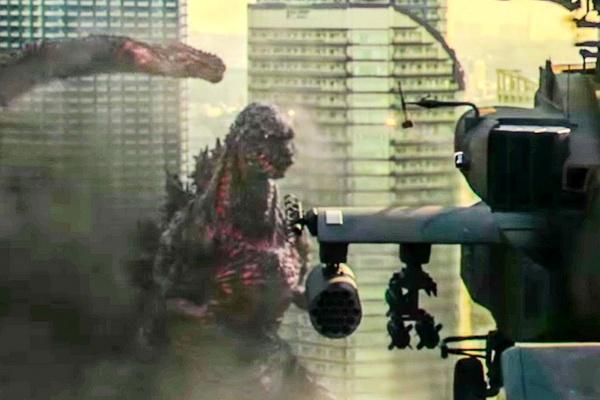Quai vat Godzilla 'hoanh hanh' tai phong ve Nhat Ban hinh anh