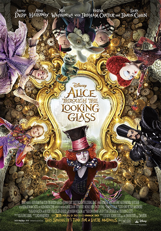 review phim Alice Through the Looking Glass anh 1